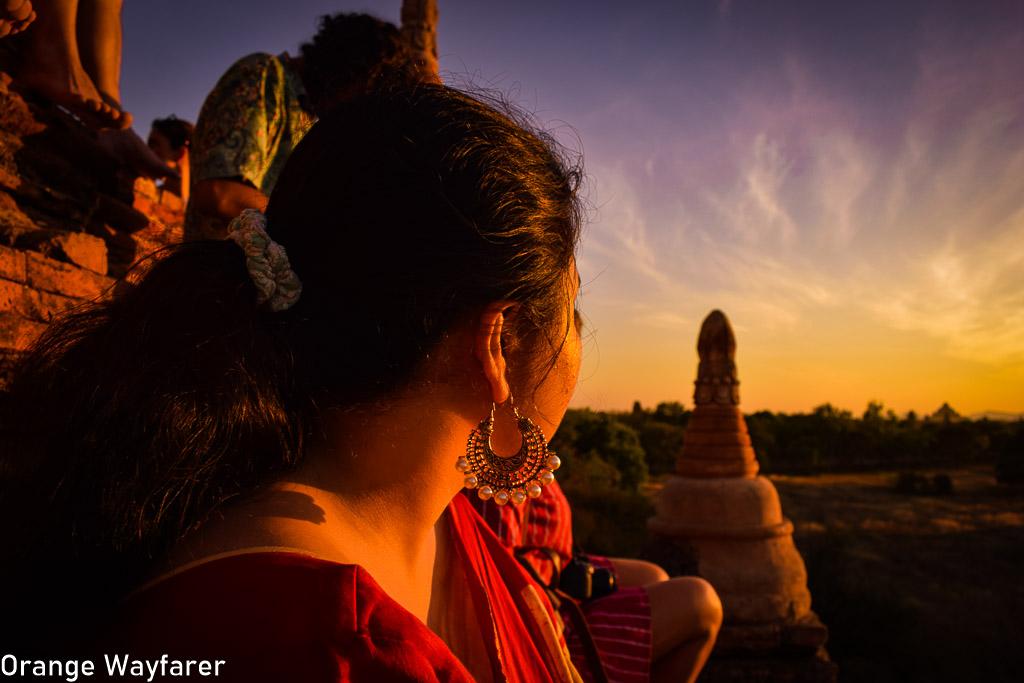 A sunset at Bagan, Myanmar: Instagram shoot